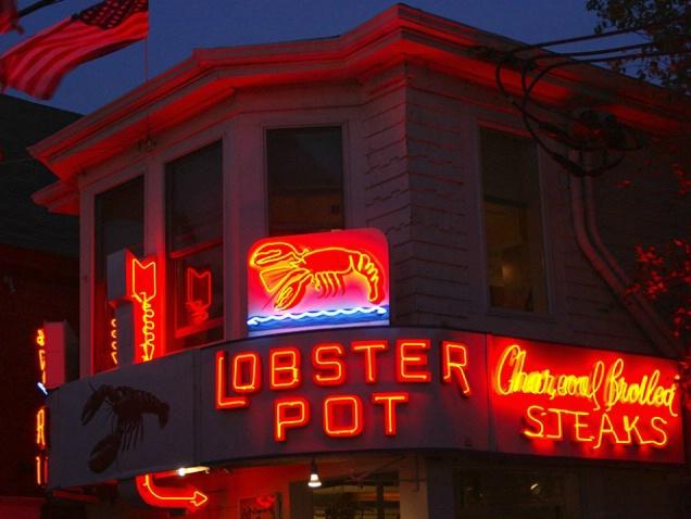 Lobster Pot at Night