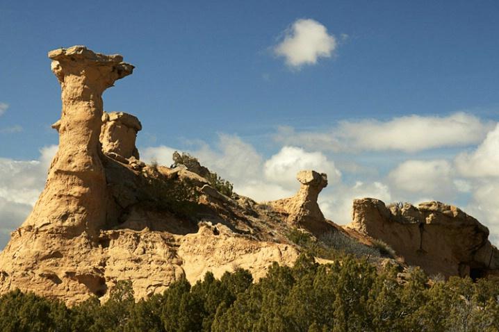 Chimney Rocks, New Mexico