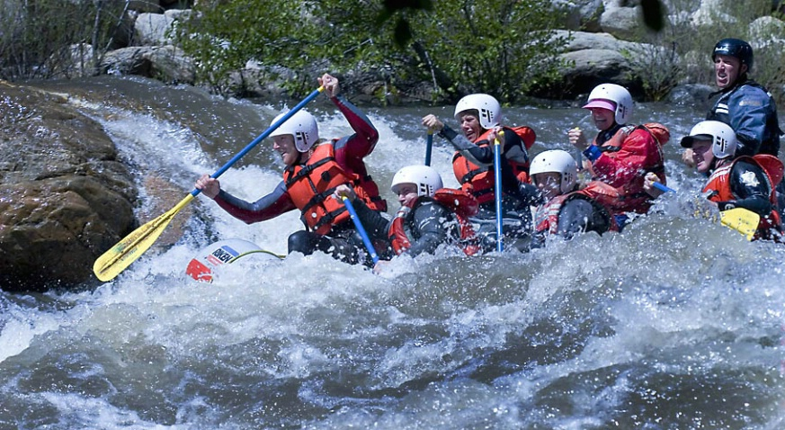 Rafters on the Kern River