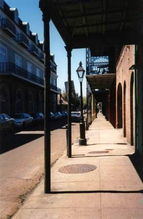 French Quarter Sidewalk