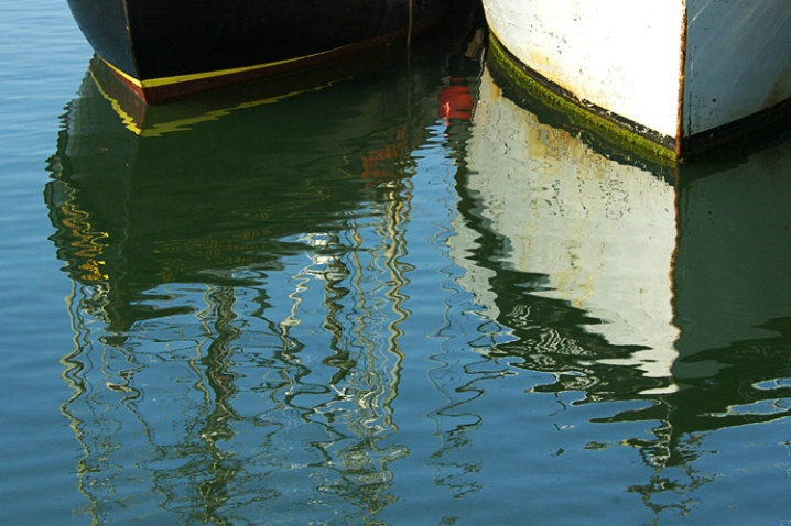 Two Boat Reflection