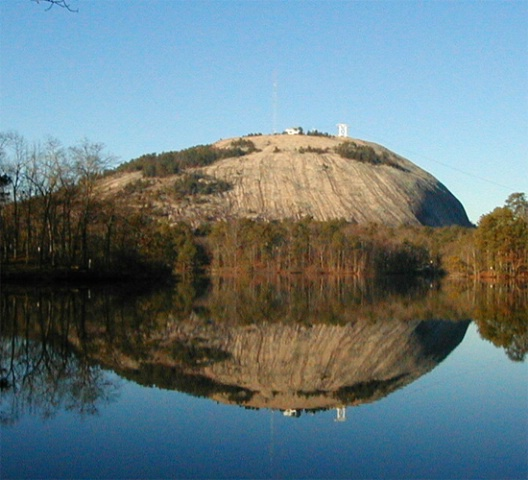 Reflecting on Stone Mountain