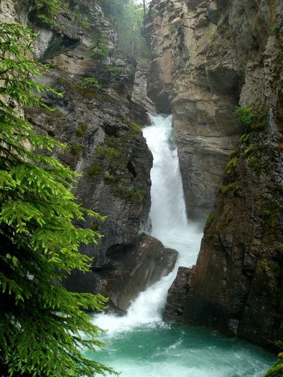 Johnston Falls, Banff, Canada