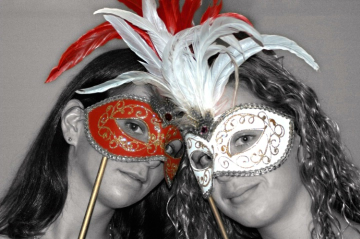 RJ & CJ with Masks