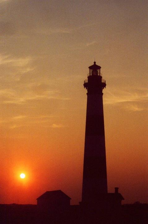 Bodie Lighthouse Sunrise