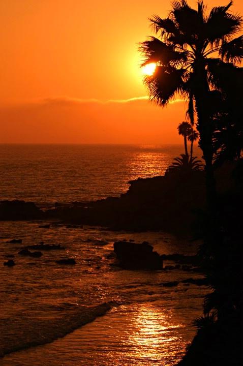 Sunset at Laguna