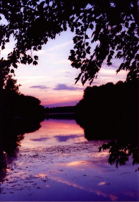 Scena Lake at Sunset
