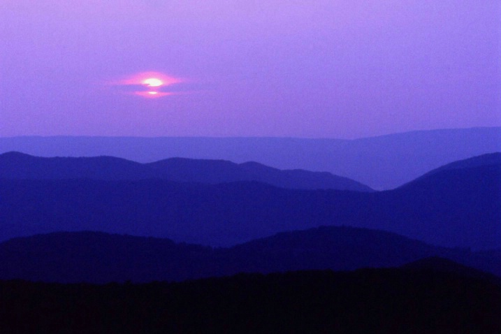 Big Meadow Sunset