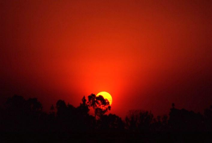 Sunset in San Diego