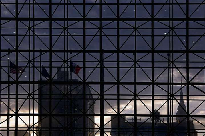 N.Y. Skyline from Javits Center