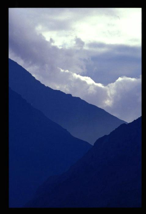 Glacier National Park Blue Mountains