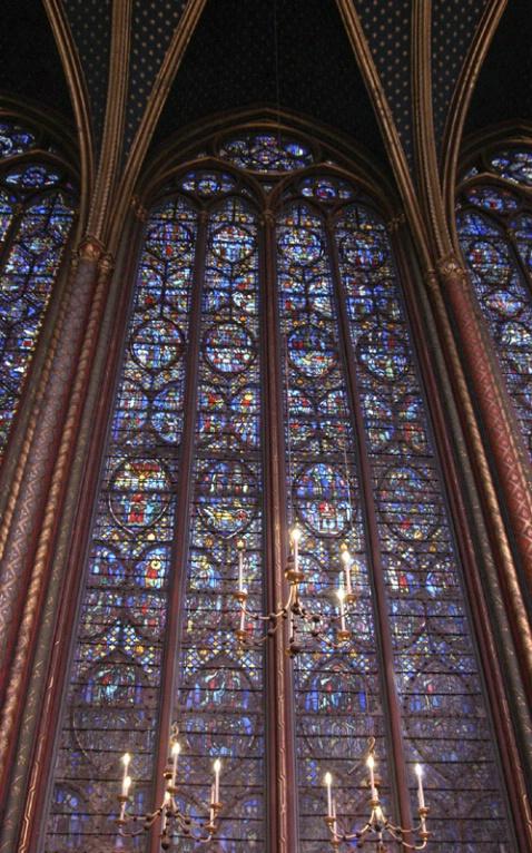 Stained Glass, La Sainte Chapelle