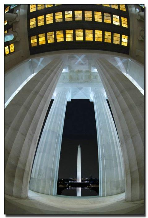 Lincoln and Washington Memorial