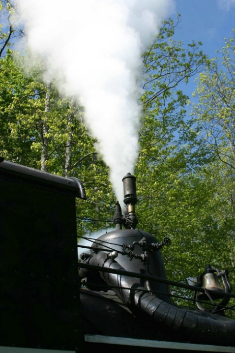 Blowing Off Steam, Shay 2, Cass, WV