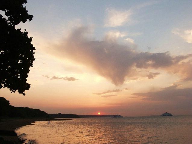 Fishbourne Sunset