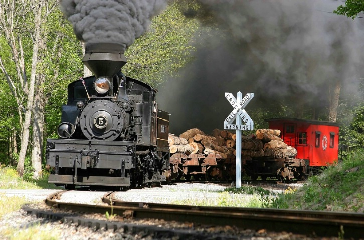 """""""Making the Crossing"""", Cass, WV"""