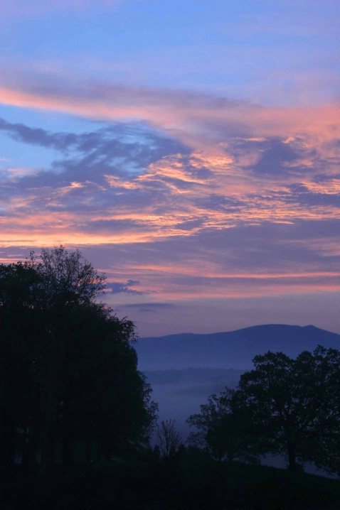Sunrise in the Blue Ridge