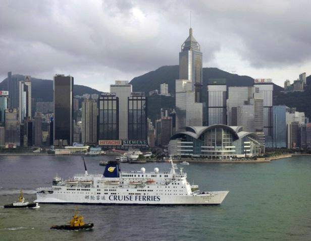 Sightseeing Hong Kong