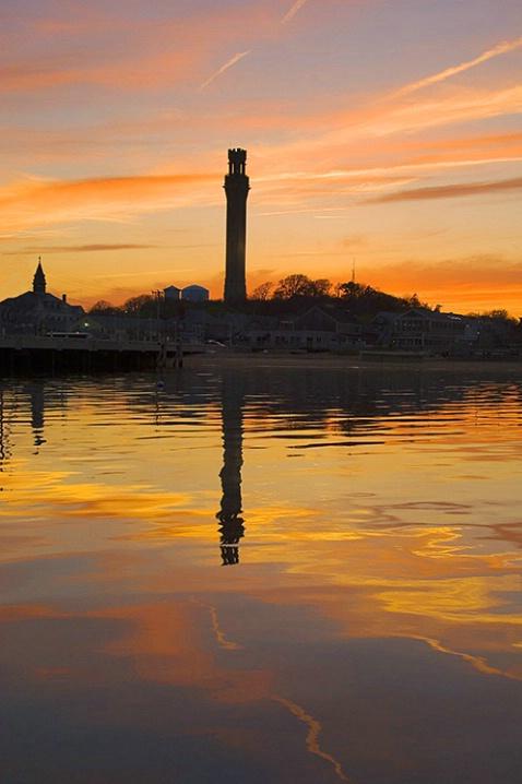 Monument Sunset Vertical