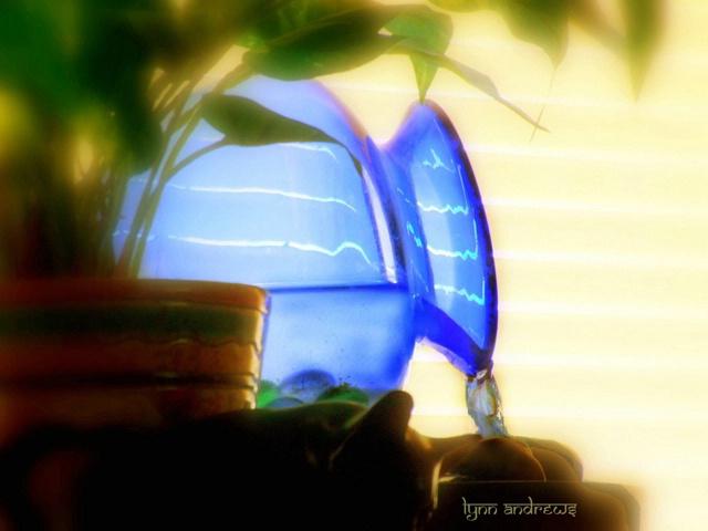 The Blue Urn