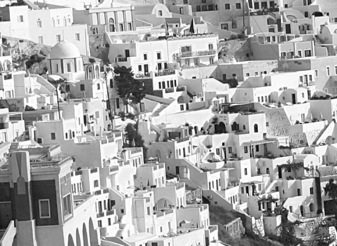 MOSTLY WHITE BUILDINGS