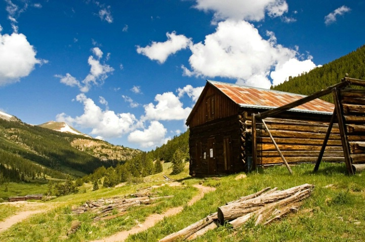 Haunted Log Cabin