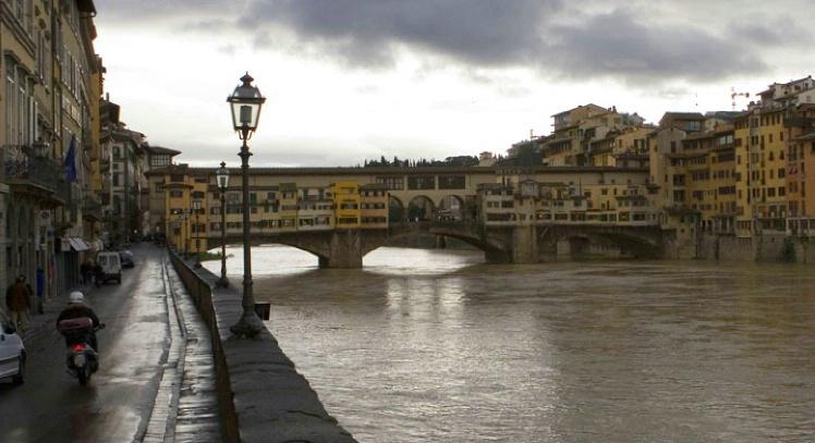 Ponte Vecchio Bridge as Shot