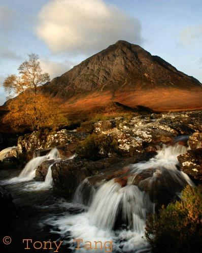 Glencoe in Autumn colours