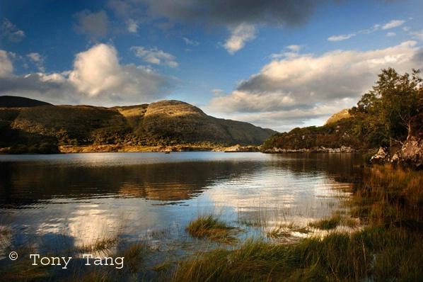 Killarney Lakes Upper in Autumn