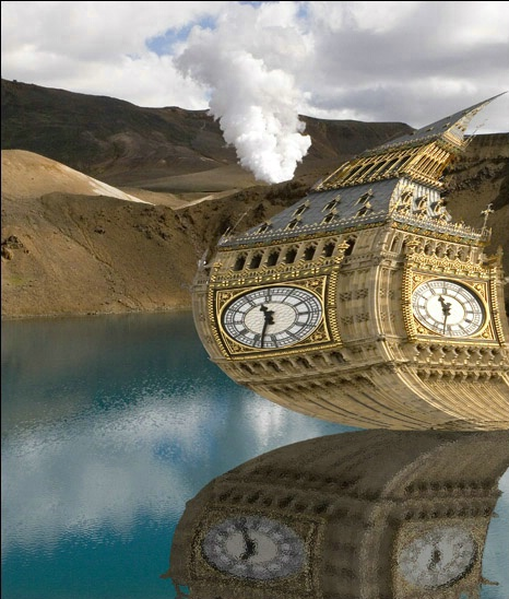 Big Ben Gets Lost in Iceland