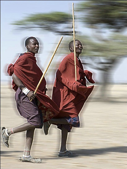 Maasai Village in the Serengeti