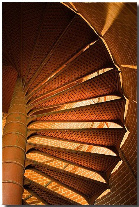 Assateague Lighthouse Spiral Staircase