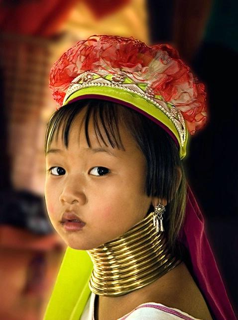 Sweet Hilltribe Girl, Thailand