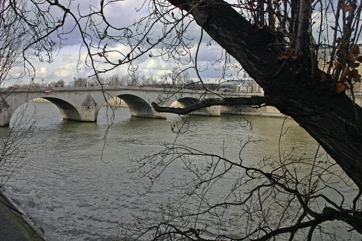 RIVER SEINE BRIDGE