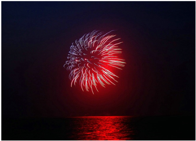 Nantucket Fireworks  #124