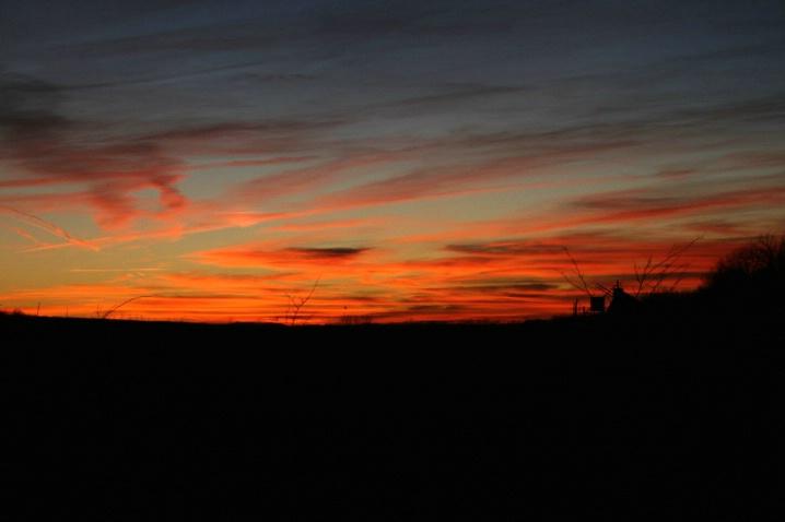 Sunset in West Virginia