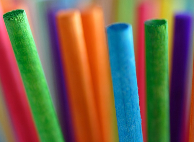 Coloured Sticks