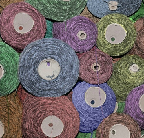 Pile of Yarn - After Coloring