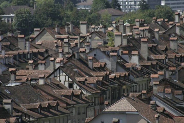 Roof tops - Before