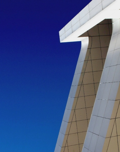 Abstract Skyline at the Getty Center