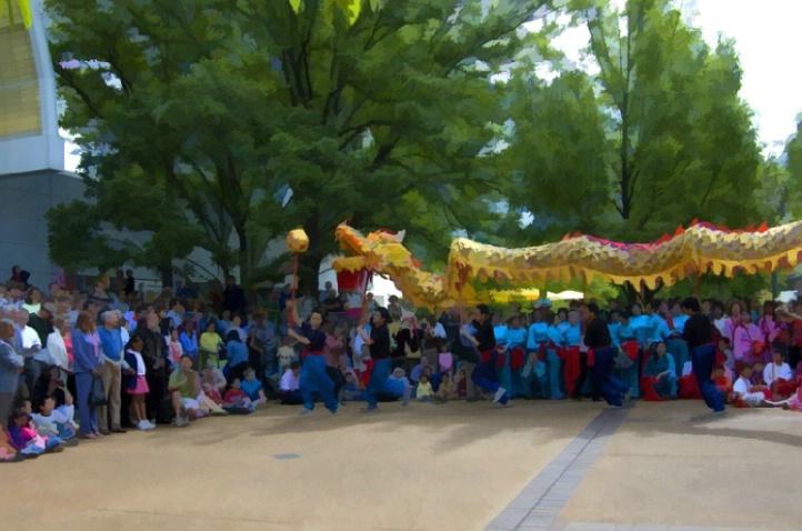 Chinese Festival at Missouri Botanical Garden