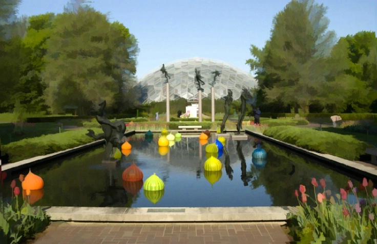 Climatron in the summer