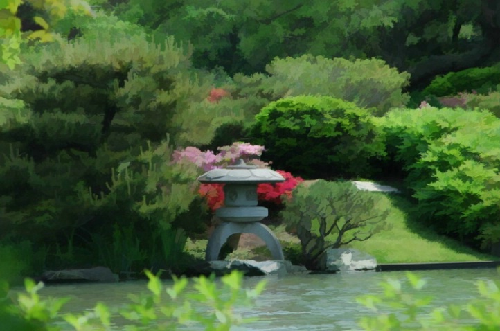 Japanese lakeview