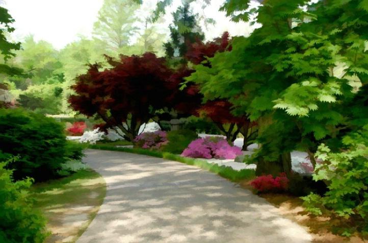 Spring walk through the Japanese Gardens