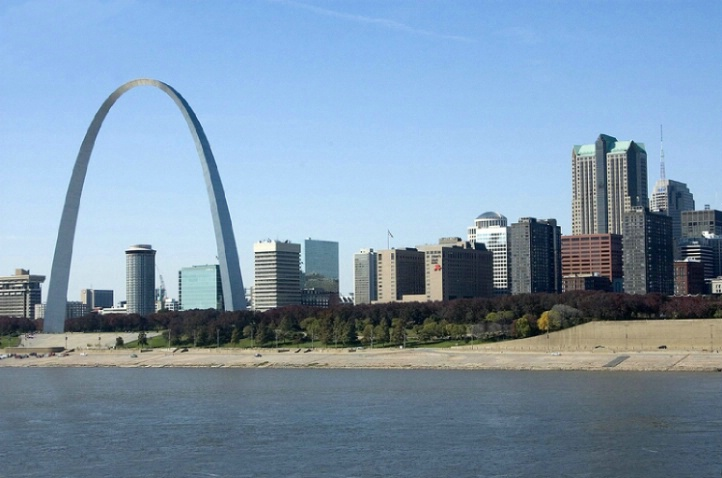 St. Louis Skyline from the east side