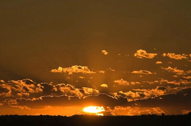 Golden Wisconsin Sunset