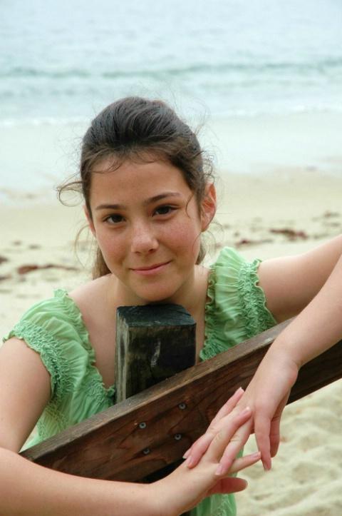Carissa at  Monterey Beach, CA