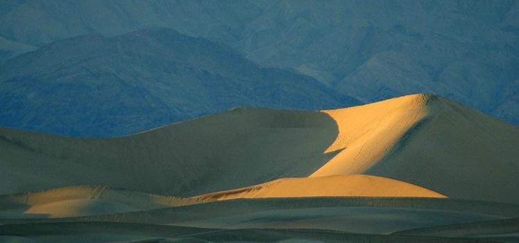 Fading Light at Mesquite Dunes