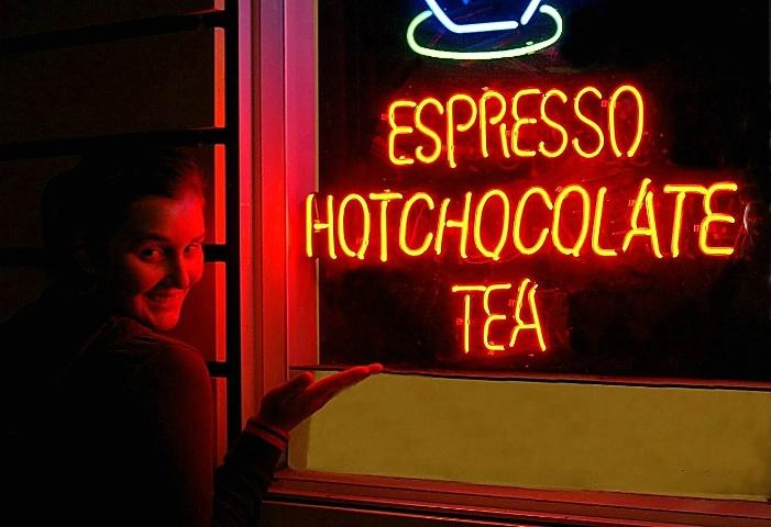 Espresso, Hot Chocolate, Tea Anyone?