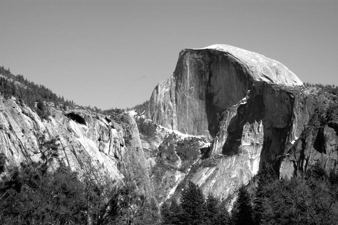 Yosemite's Half Dome, CA